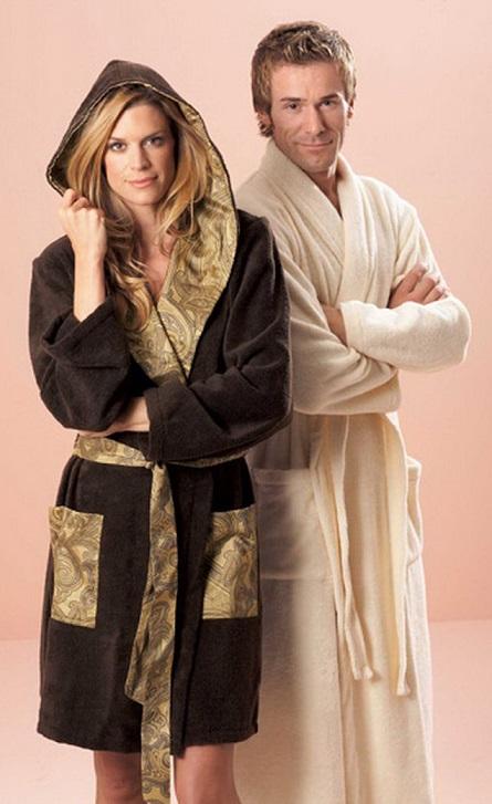 махровые,шелковые мужские халаты 05