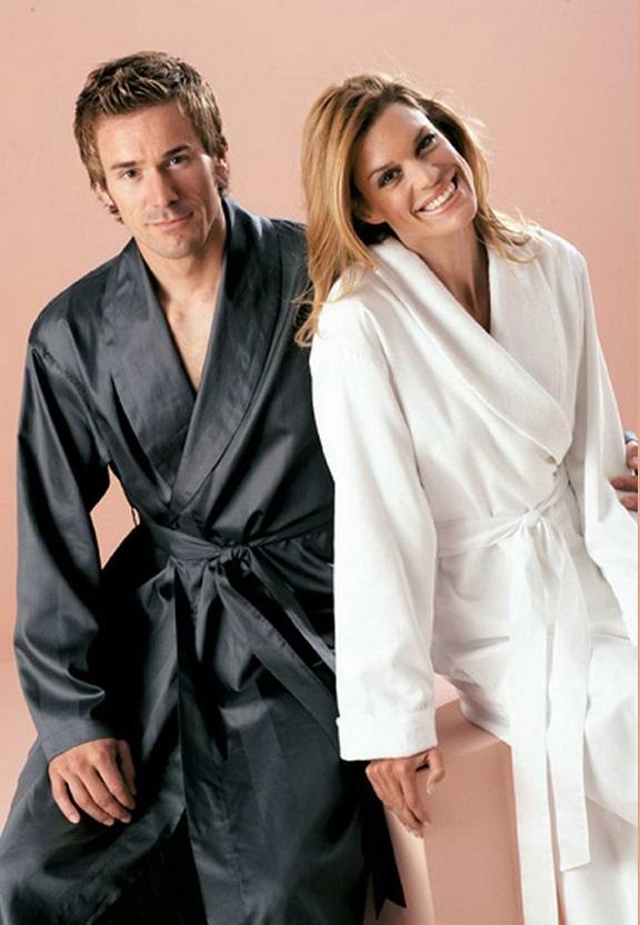 махровые,шелковые мужские халаты 27