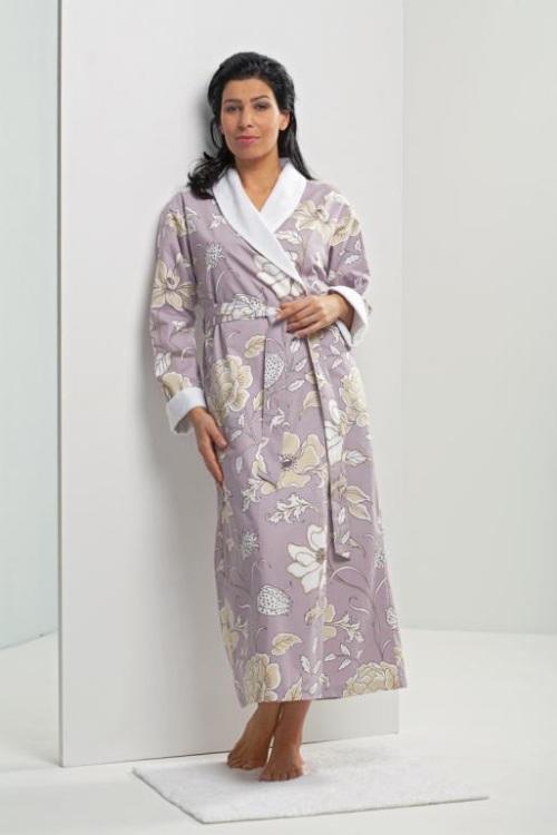 Женские халаты на махровой подкладке Azur