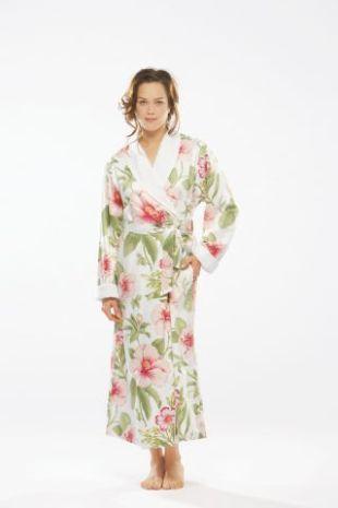 Женские халаты на махровой подкладке Ibisco