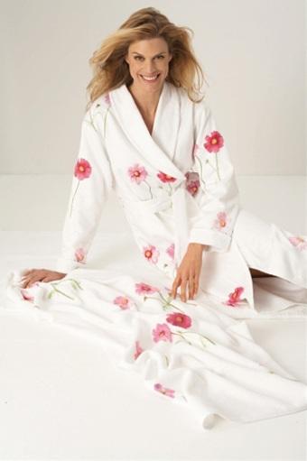 Женские халаты на махровой подкладке Cosmea