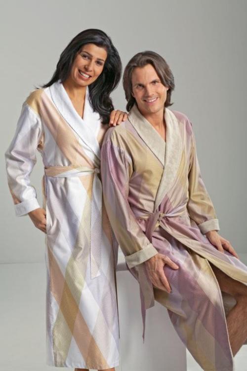 Женские халаты на махровой подкладке Criss Cross