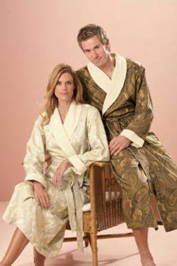 Женские халаты на махровой подкладке Imperial