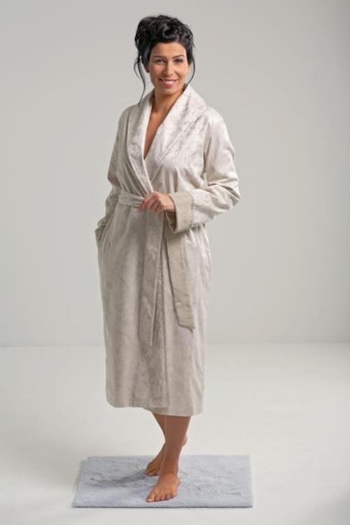 Женские халаты на махровой подкладке Jacquards Blumen