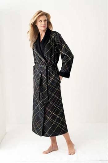 Женские халаты на махровой подкладке Laser
