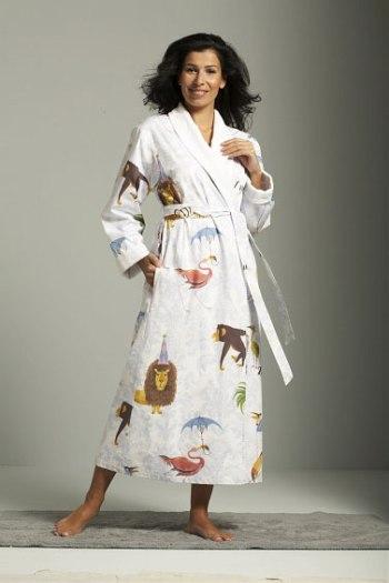 Женские халаты на махровой подкладке Zoo