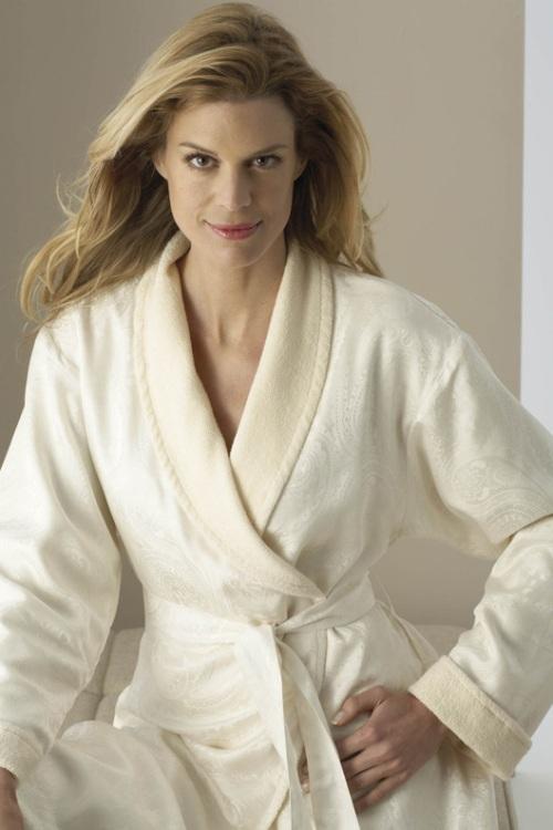 Женский шелковый халат Silk