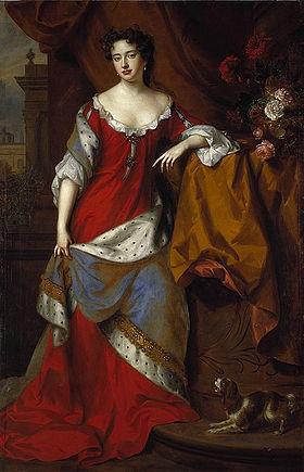 Королева Анна, королевский меховой плед