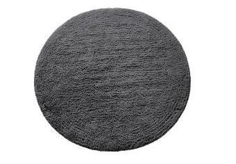 Махровый коврик для ванны круглой формы