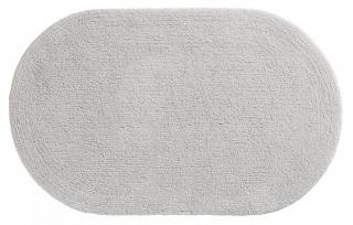 Махровый коврик для ванны овальной формы