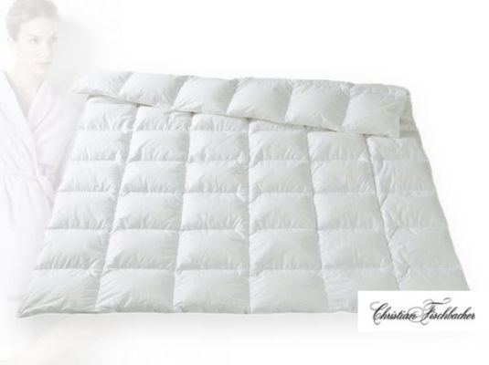 Одеяло из гусиного пуха в шелке Зермат