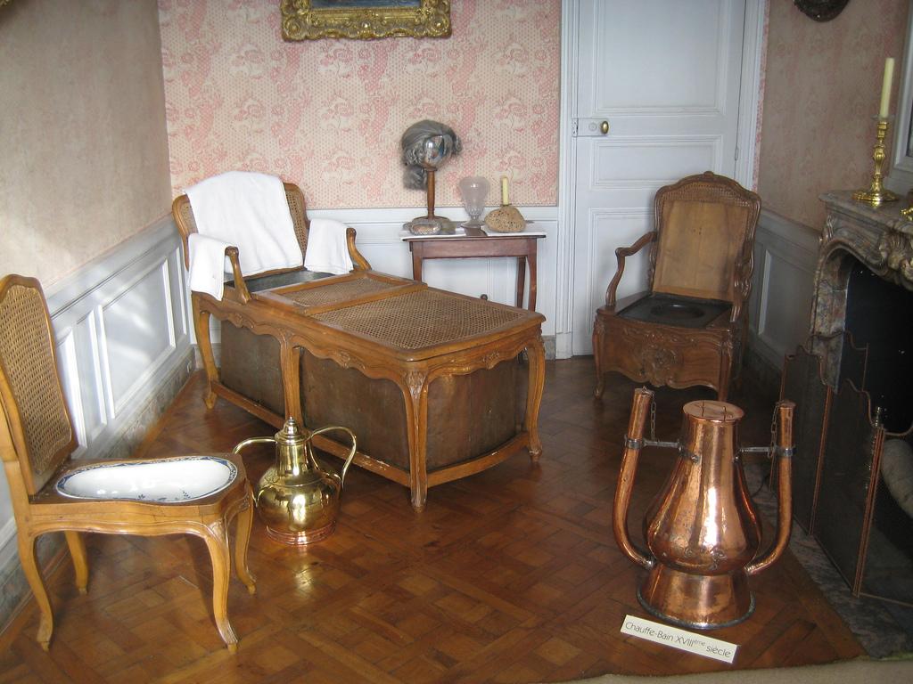 Ванная комната Людовика XVI